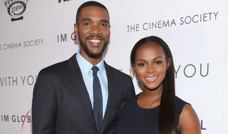 "Parker Sawyers, Tika Sumpter==Miramax, Roadside Attractions & IM Global with The Cinema Society Host a Screening of ""Southside With You""==Landmark Sunshine Cinema, NYC==August 24, 2016==©Patrick McMullan==Photo - Sylvain Gaboury/PMC== == Parker Sawyers; Tika Sumpter"