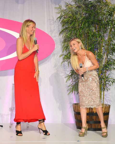 Gwyneth Paltrow, Tracy Anderson==The 2016 Hamptons Paddle & Party for Pink Benefiting the Breast Cancer Research Foundation==Fairview on Mecox Bay, Southampton, NY==August 6, 2016==© Patrick McMullan==Photo - Patrick McMullan/PMC== == Gwyneth Paltrow;Tracy Anderson