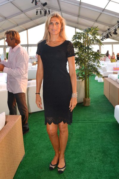 Gabrielle Reece==The 2016 Hamptons Paddle & Party for Pink Benefiting the Breast Cancer Research Foundation==Fairview on Mecox Bay, Bridgehampton, NY==August 06, 2016==© Patrick McMullan==Photo - Patrick McMullan/PMC== ==
