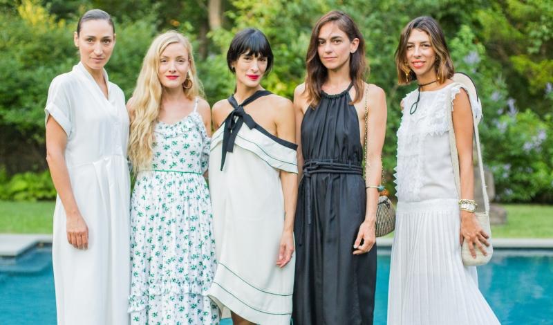 Marcelina Restrepo, Kate Foley, Athena Calderone, Elisa Restrepo