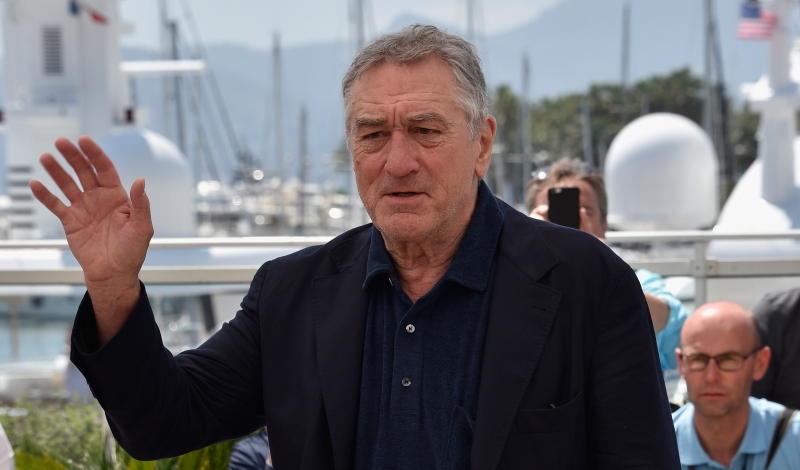 "CANNES, FRANCE - MAY 16:  Robert De Niro attends the ""Hands Of Stone"" photocall during the 69th annual Cannes Film Festival at the Palais des Festivals on May 16, 2016 in Cannes, France.  (Photo by Clemens Bilan/Getty Images)"
