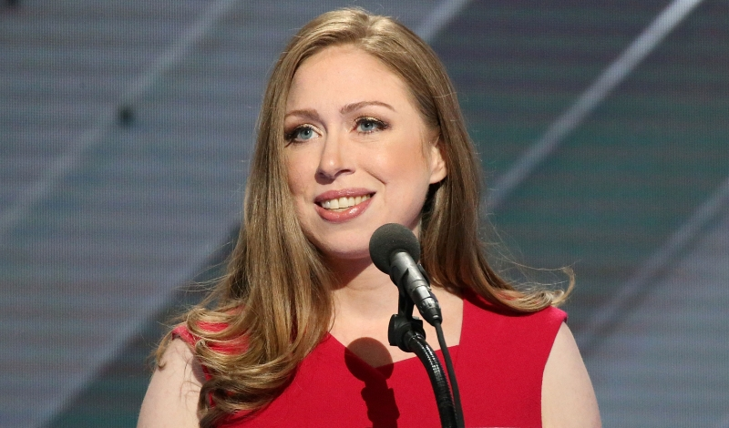 PHILADELPHIA, PA - JULY 28:  Chelsea Clinton delivers remarks on the fourth day of the Democratic National Convention at the Wells Fargo Center on July 28, 2016 in Philadelphia, Pennsylvania. An estimated 50,000 people are expected in Philadelphia, including hundreds of protesters and members of the media. The four-day Democratic National Convention kicked off July 25.  (Photo by Paul Morigi/WireImage)