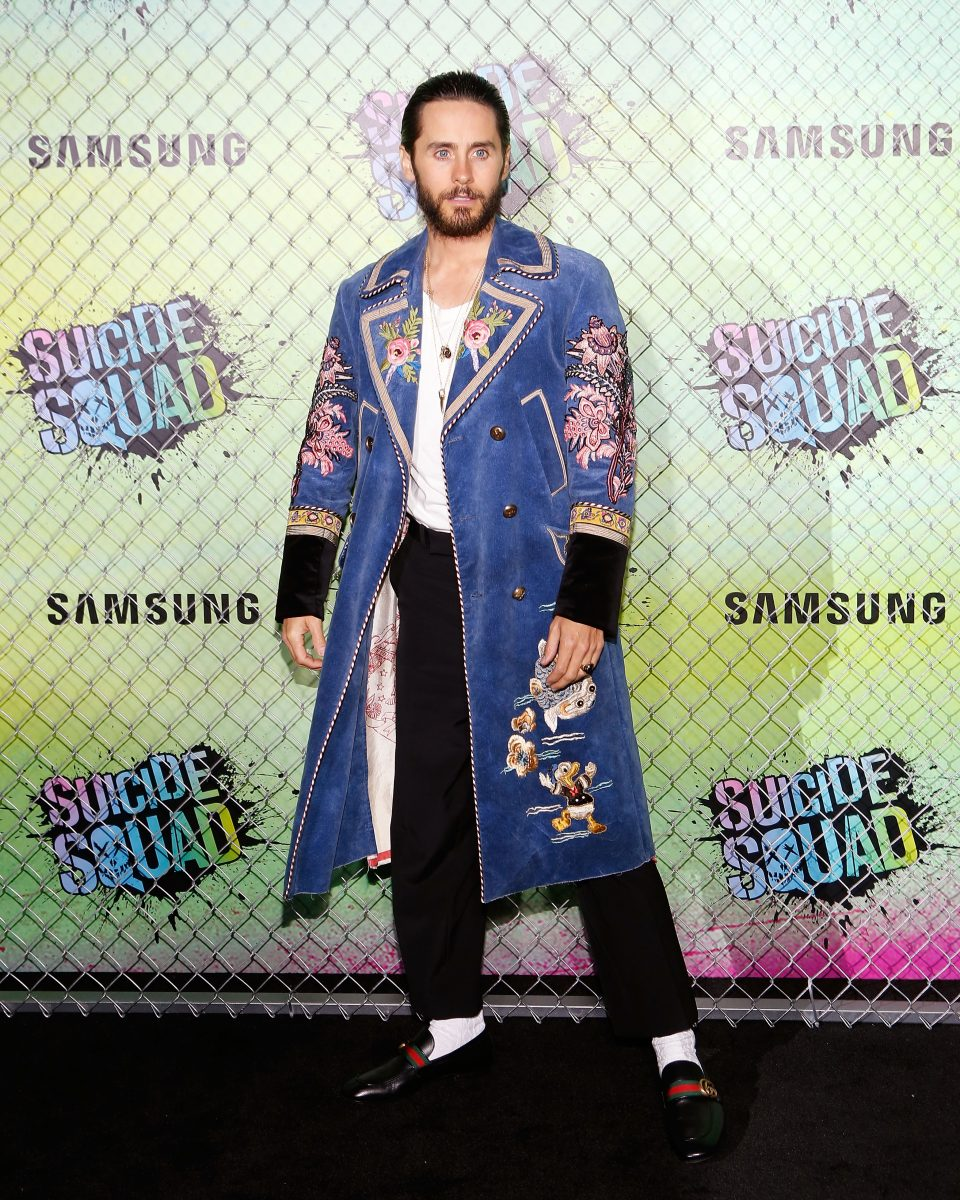 "NEW YORK, NY - AUGUST 01: Actor Jared Leto attends the world premiere of ""Suicide Squad"" at The Beacon Theatre on August 1, 2016 in New York City. (Photo by Taylor Hill/FilmMagic)"