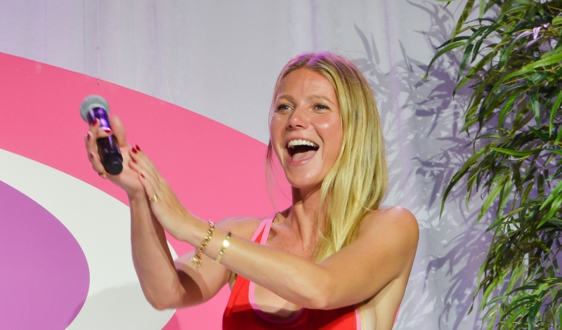 BRIDGEHAMPTON, NY - AUGUST 06:  Gwyneth Paltrow attends the 2016 Hamptons Paddle & Party For Pink at Fairview on Mecox Bay on August 6, 2016 in Bridgehampton, New York.  (Photo by Steven A Henry/Getty Images)