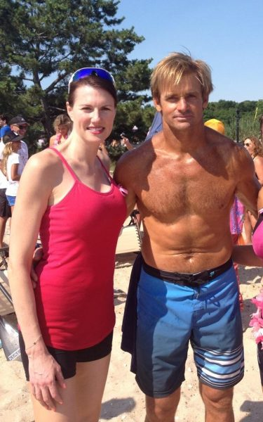 Jenn Bruno & Laird Hamilton at Paddle & Party for Pink 2015