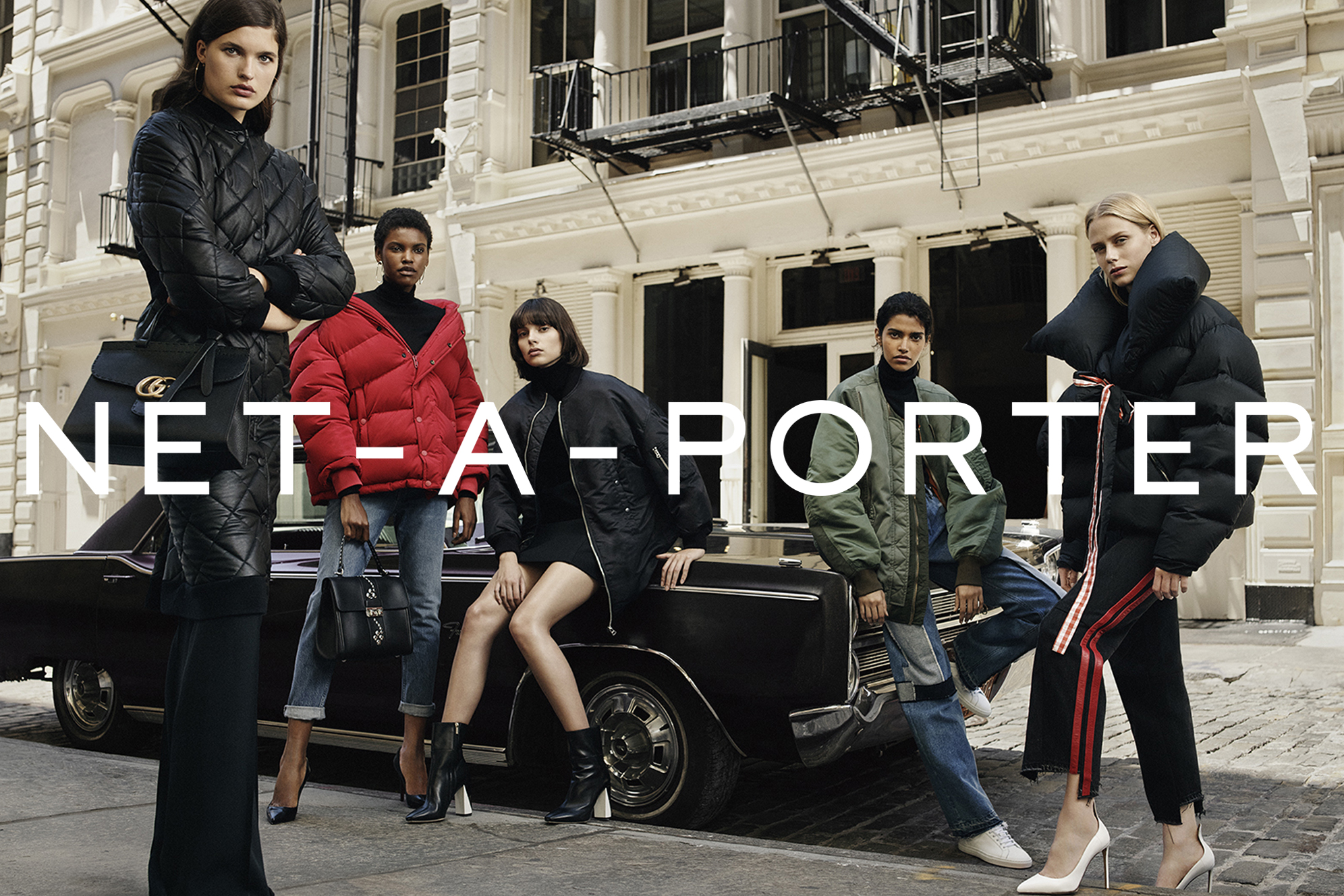 Who are the models in net a porter 39 s fall campaign for Net a porter