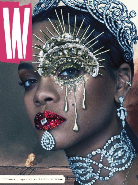 W Rihanna Sept 2016 cover1