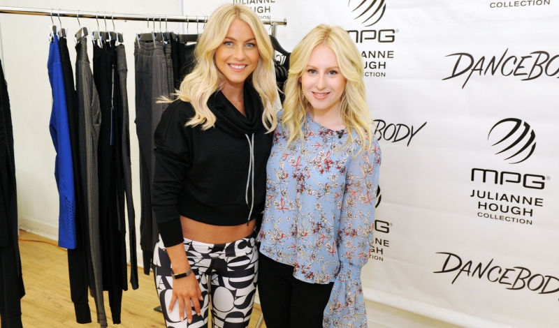 NEW YORK, NY - SEPTEMBER 07:  Julianne Hough and Sydney Sadick appear on Amazon's Style Code Live at The Movement on September 7, 2016 in New York City.  (Photo by Craig Barritt/Getty Images for Amazon)