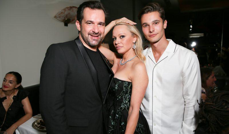Stéphane Gerschel, Pamela Anderson, Dorian Grinspan