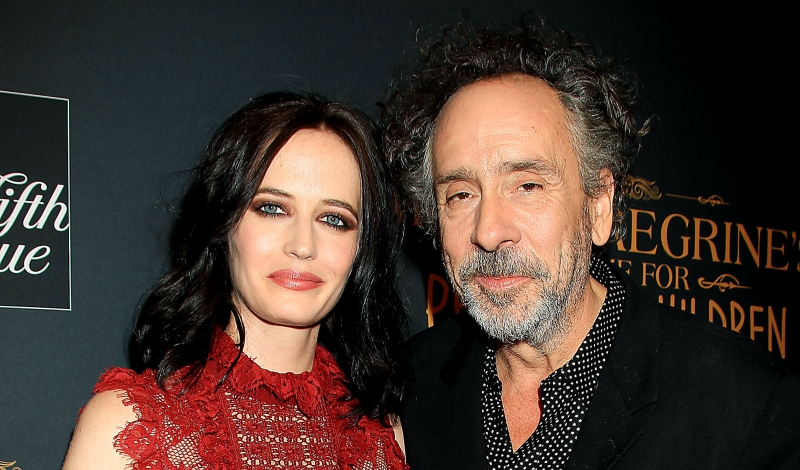 "-  New York, NY - 9/26/16 -Twentieth Century Fox Saks Fifth Ave and Visa Signature Presents A Tim Burton Film ""Miss Peregrines Home For Peculiar Childern"" .  - Pictured:  Eva Green, Tim Burton (Director) -Photo by: Dave Allocca/Starpix"