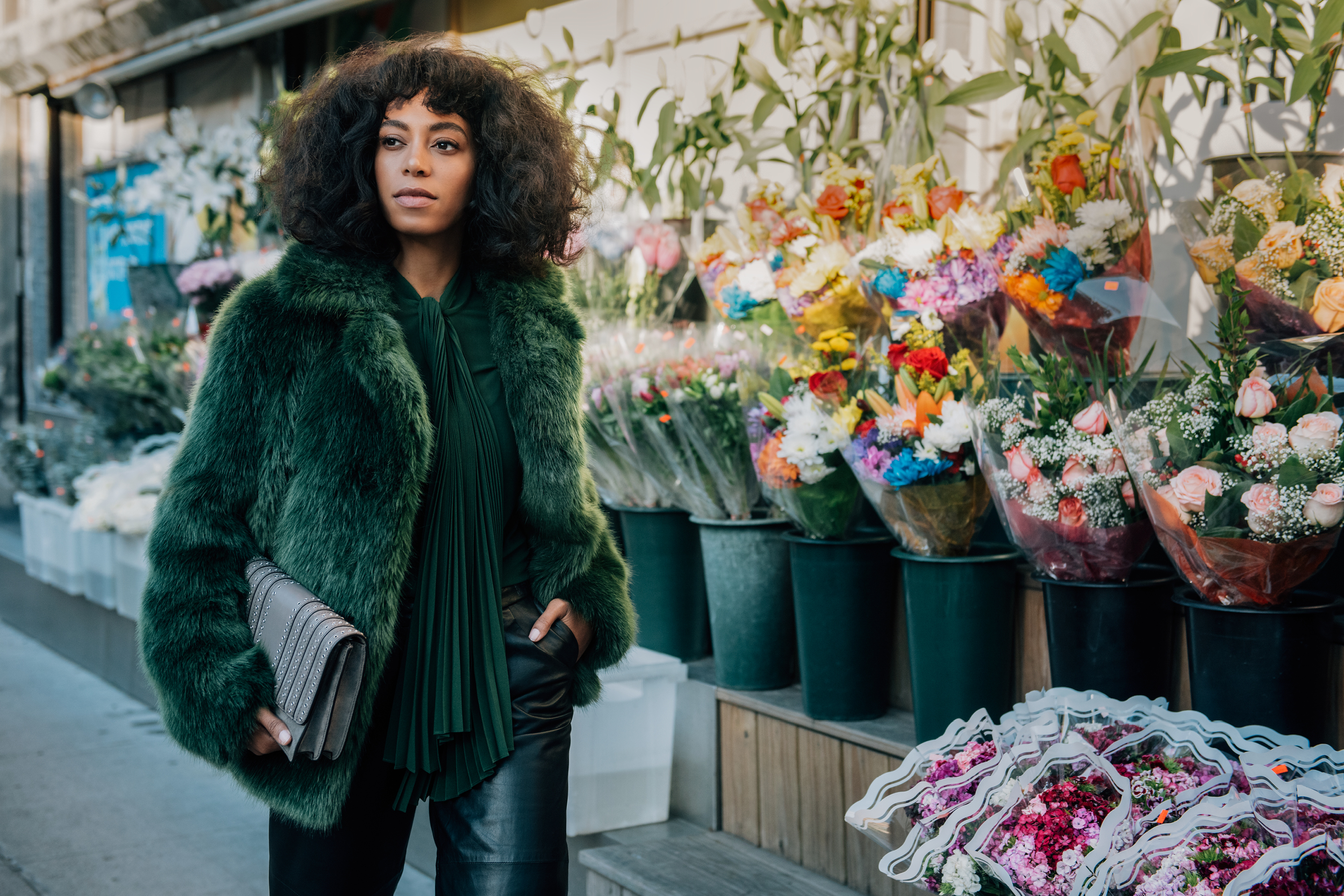 e2205208fe1c Solange Knowles and Nina Adgal Star in Michael Kors' New Handbag Campaign