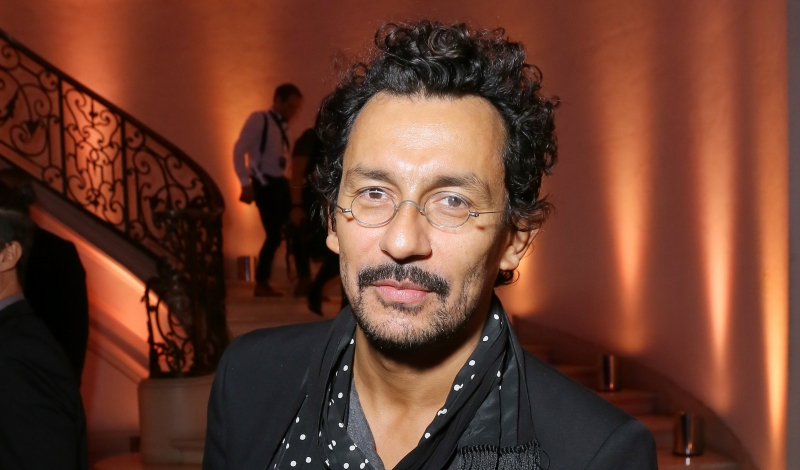 PARIS, FRANCE - OCTOBER 03: Haider Ackermann attends Vogue 95th Anniversary Party on October 3, 2015 in Paris, France.  (Photo by Victor Boyko/Getty Images for Vogue)