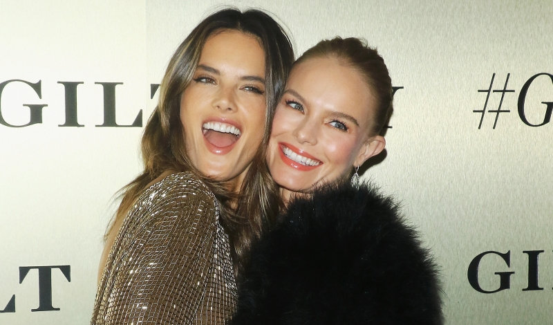 NEW YORK, NY - SEPTEMBER 27: Model Alessandra Ambrosio (L) and actress Kate Bosworth attend the #GiltLife launch party held at a private residence on September 27, 2016 in New York City.  (Photo by Jim Spellman/WireImage)
