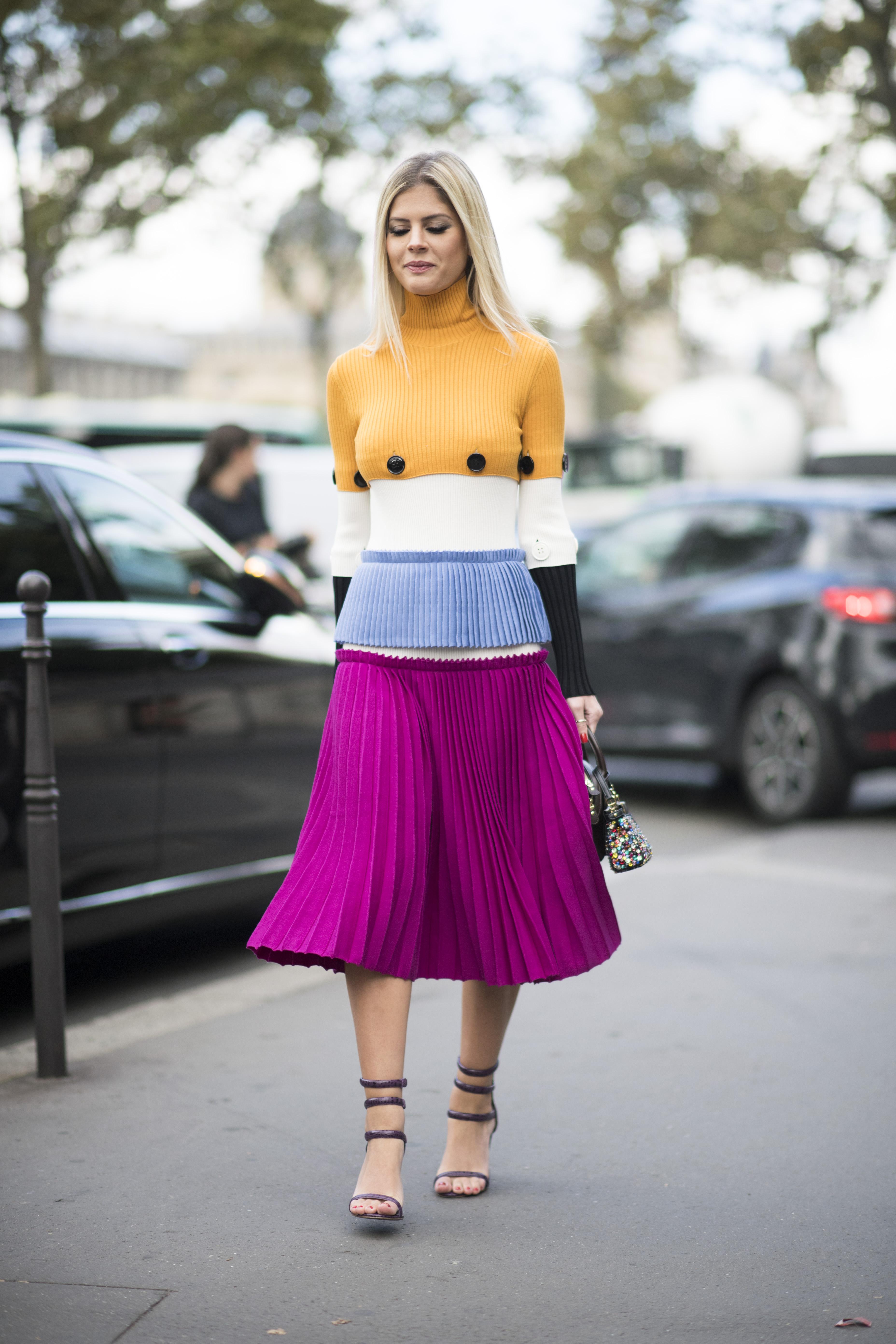 Parisian Summer Street Fashion Images