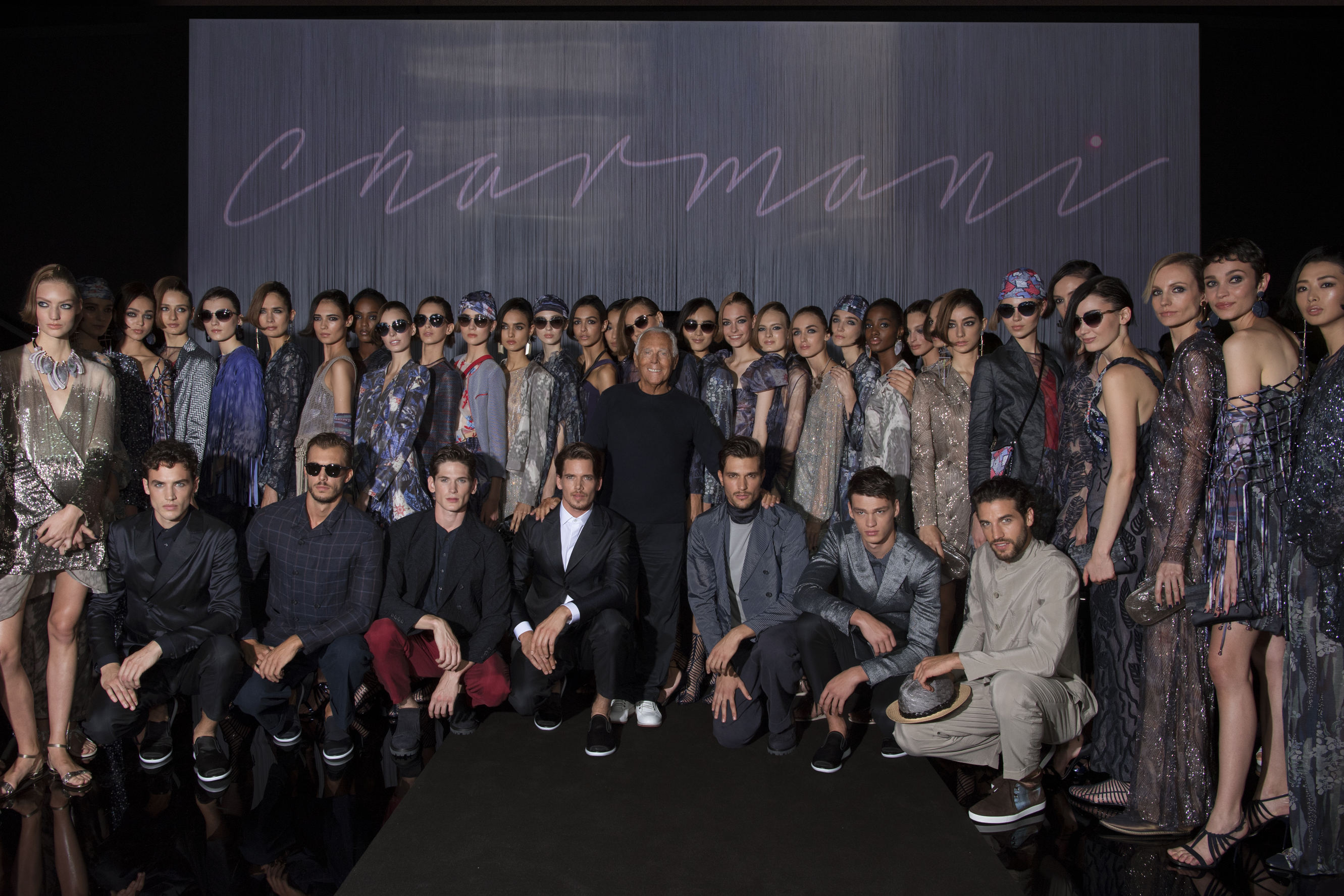 "22e4e8c9d827 That funny linguistic blend of words was the title of Giorgio Armani s  Spring 2017 show. So what is Charmani  ""A neologism that captures the  essence of a ..."