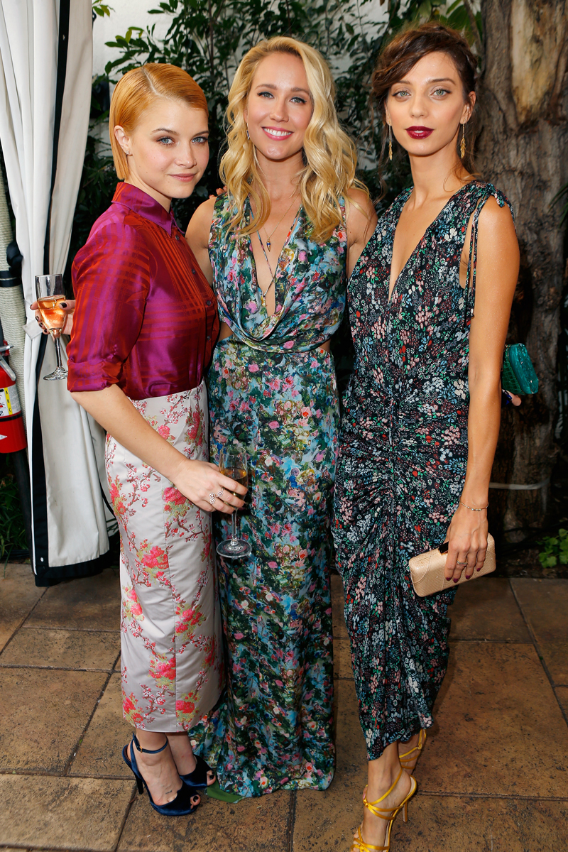 Cfda vogue fashion fund fashion show and tea daily front row