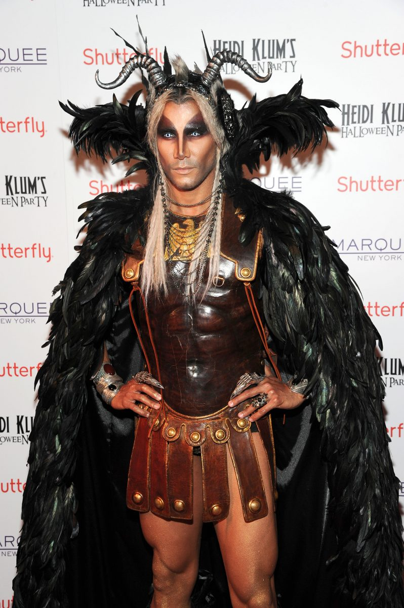 Heidi Klum Halloween Party 2010