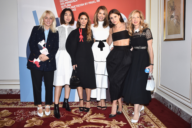 0953a818861d PARIS, FRANCE – SEPTEMBER 30  Guests attend Buro 24 7 Fashion Forward  Initiative as part of Paris Fashion Week Womenswear Spring Summer 2016 at  Hotel Ritz ...