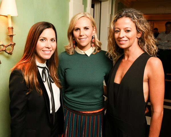 Monique Lhuillier, Tory Burch, Michelle Smith