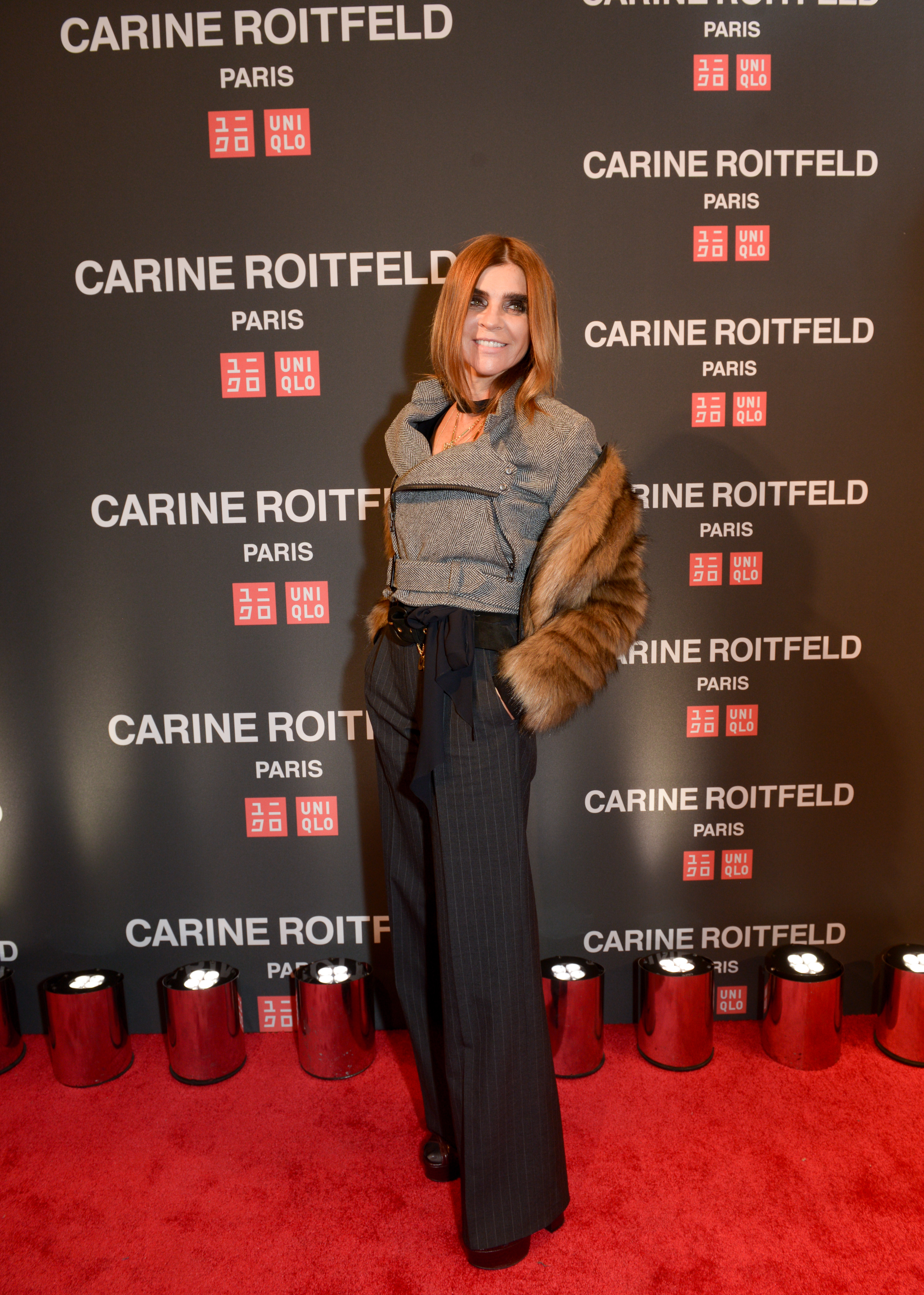 Exclusive: Carine Roitfeld On Her New Collection for Uniqlo