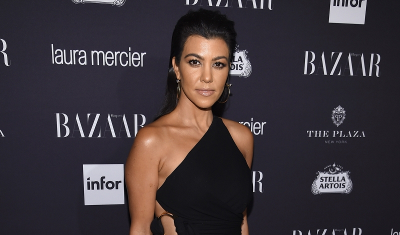 "NEW YORK, NY - SEPTEMBER 09:  Kourtney Kardashian attends Harper's Bazaar's celebration of ""ICONS By Carine Roitfeld"" presented by Infor, Laura Mercier, and Stella Artois  at The Plaza Hotel on September 9, 2016 in New York City.  (Photo by Dimitrios Kambouris/Getty Images for Harper's Bazaar)"