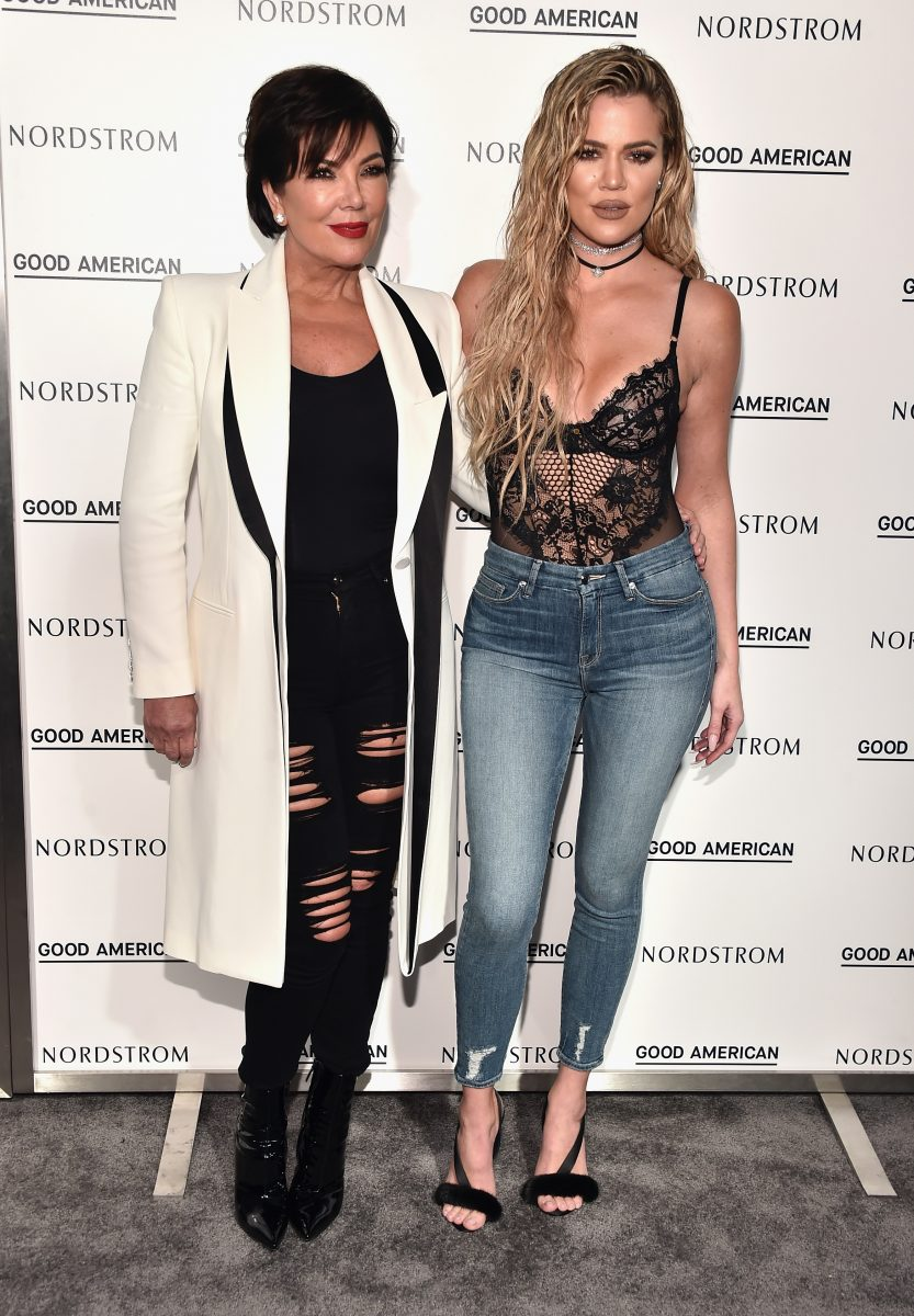 LOS ANGELES, CA - OCTOBER 18: Kris Jenner and Khloe Kardashian attend Khloe Kardashian Good American Launch Event at Nordstrom at the Grove on October 18, 2016 in Los Angeles, California. (Photo by Alberto E. Rodriguez/Getty Images)