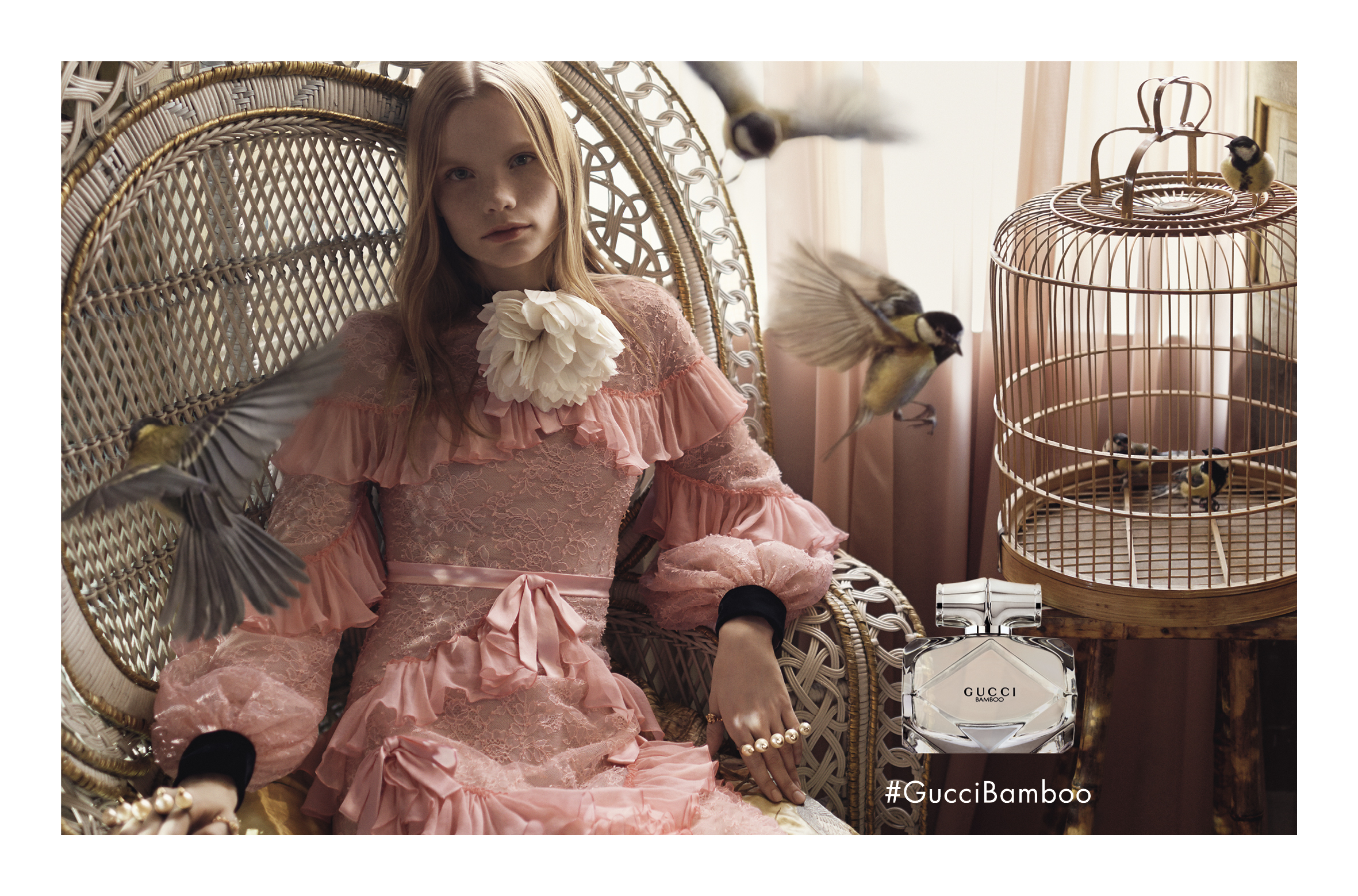 1b6b5b552 Gucci Unveils Campaign for Its New Bamboo Fragrance