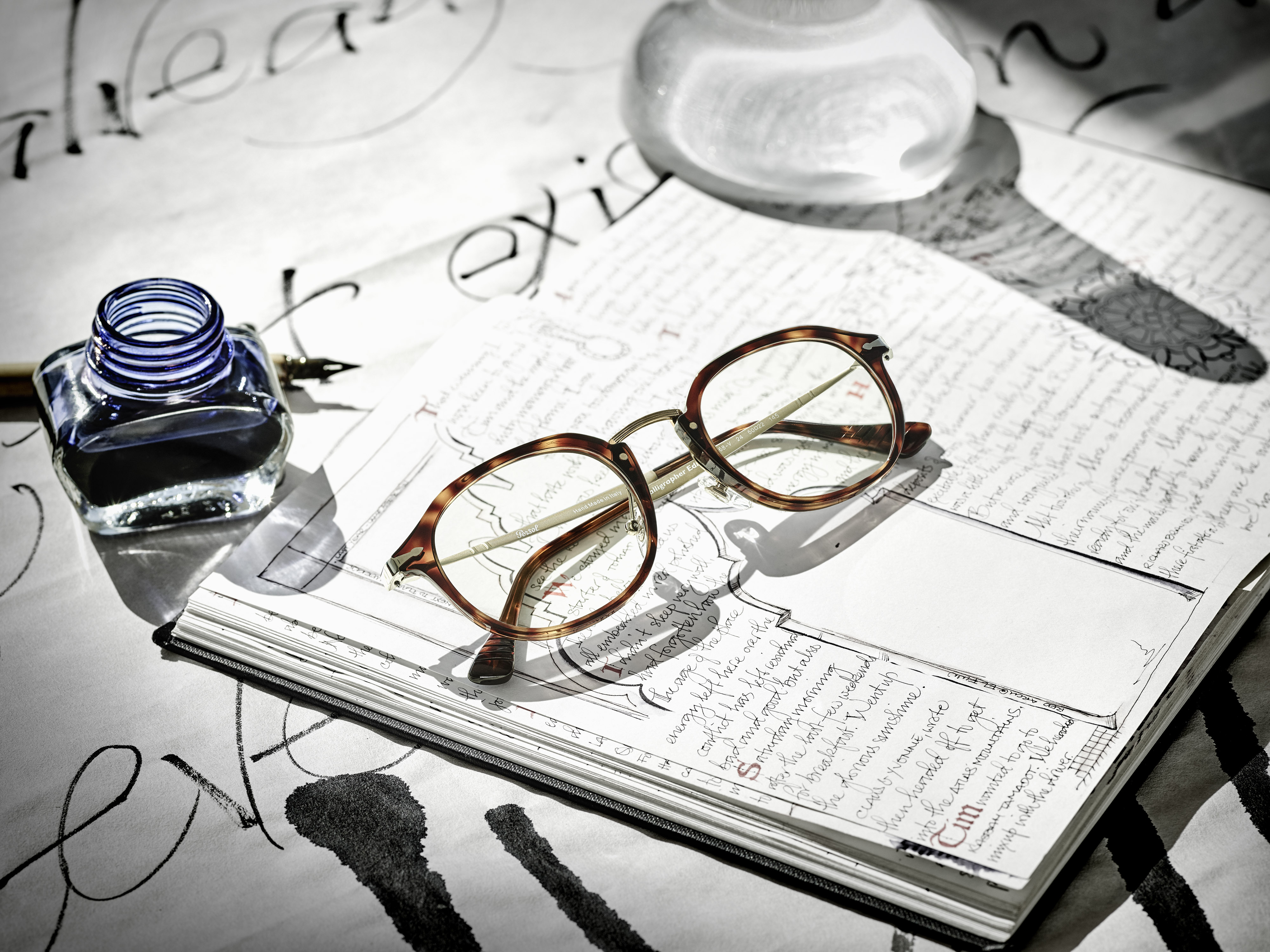 Persol Celebrates The Launch Of The Calligrapher