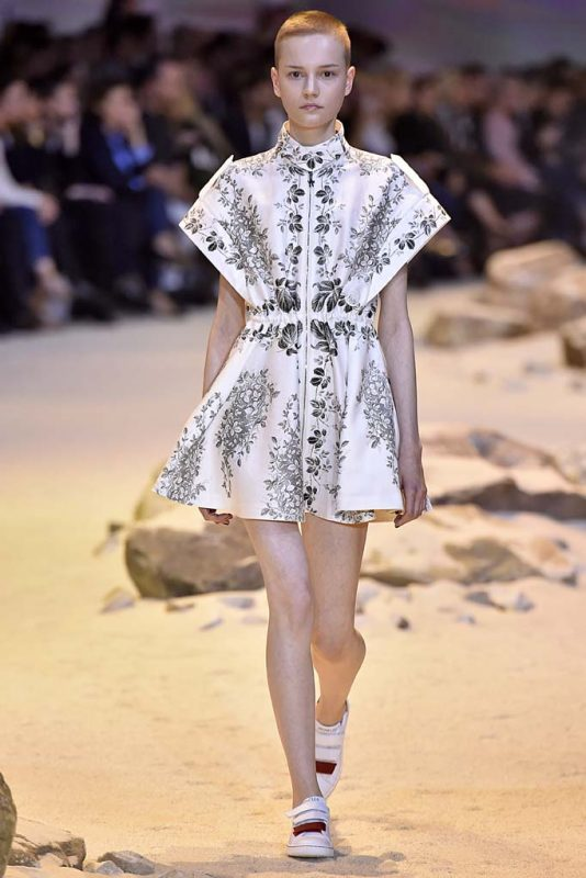 4d56a3a2c Paris Fashion Week: Nudists at Kenzo, Natalie Westling's Moment at ...