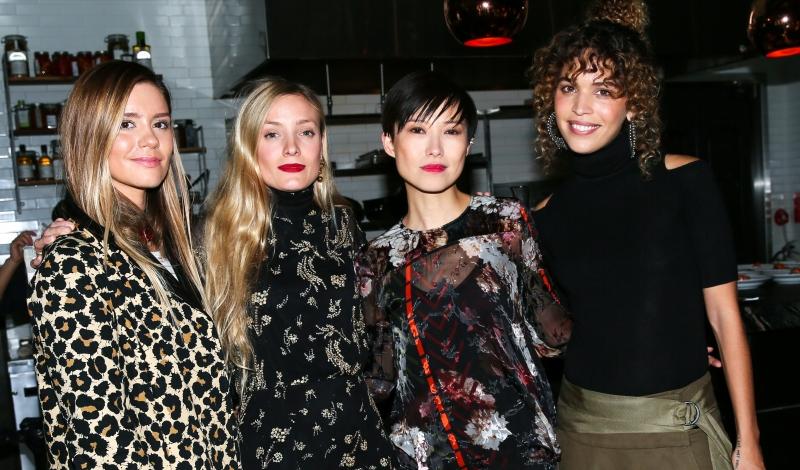 Emma Morrison, Kate Foley, Sandra Choi, Cleo Wade