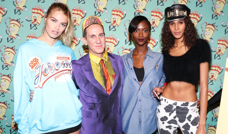 Hailey Clauson, Jeremy Scott, Riley Montana, Cindy Bruna