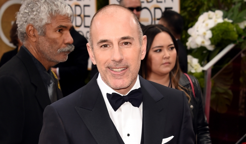 BEVERLY HILLS, CA - JANUARY 10:  TV personality Matt Lauer attends the 73rd Annual Golden Globe Awards held at the Beverly Hilton Hotel on January 10, 2016 in Beverly Hills, California.  (Photo by Jason Merritt/Getty Images)