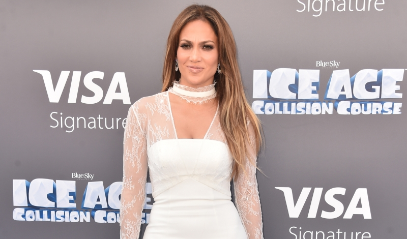 "Actress/singer Jennifer Lopez attends the screening of ""Ice Age: Collision Course"" at Zanuck Theater at 20th Century Fox Lot on July 16, 2016 in Los Angeles, California."