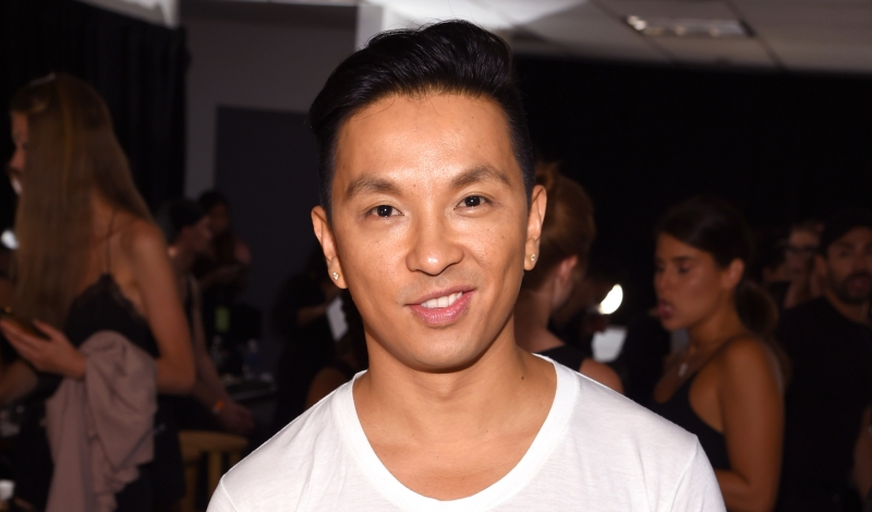 NEW YORK, NY - SEPTEMBER 11:  Designer Prabal Gurung prepares backstage at the Prabal Gurung fashion show during New York Fashion Week: The Shows September 2016 at The Gallery, Skylight at Clarkson Sq on September 11, 2016 in New York City.  (Photo by Dimitrios Kambouris/Getty Images for New York Fashion Week: The Shows)