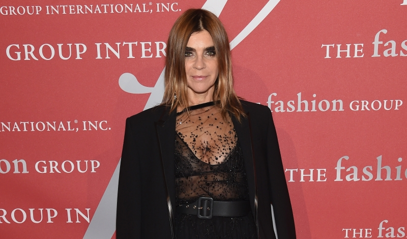 NEW YORK, NY - OCTOBER 27:  Carine Roitfeld attends 2016 Fashion Group International Night Of Stars Gala at Cipriani Wall Street on October 27, 2016 in New York City.  (Photo by Jamie McCarthy/Getty Images)