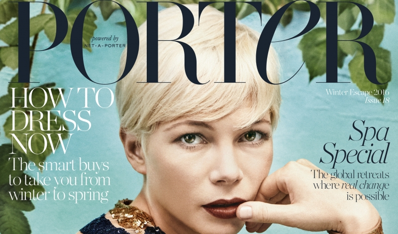 4107697e50311a Michelle Williams Opens Up to PORTER Magazine About Life in Her 30s