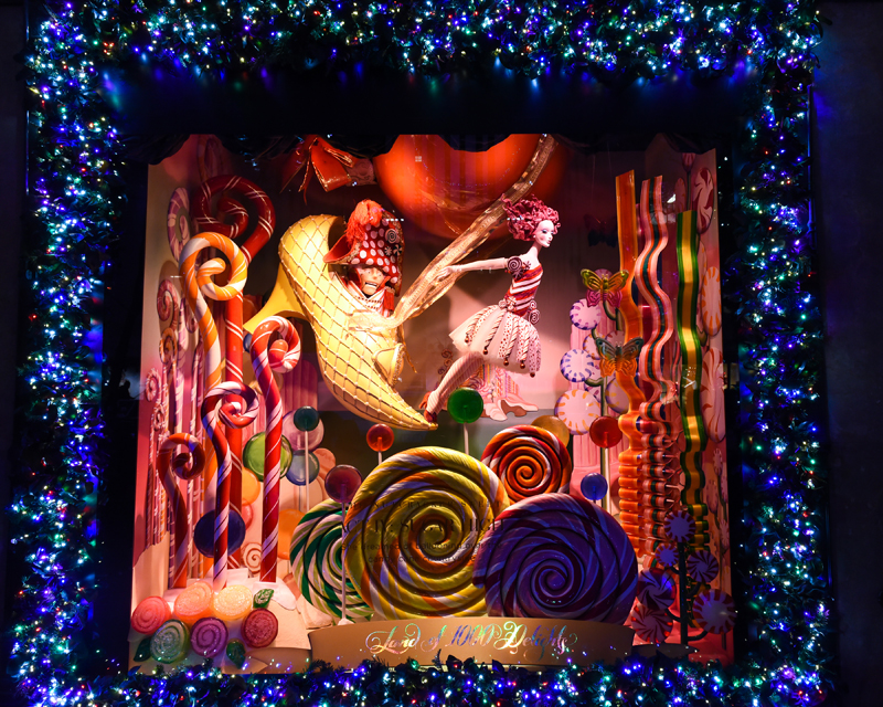 Saks Fifth Avenue Unveils Holiday Windows With A Light Show