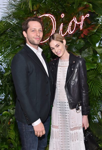 MIAMI, FL - NOVEMBER 29: Derek Blasberg and Laura Love attend the Dior Lady Art Miami launch event on November 29, 2016 in Miami, Florida. (Photo by Mike Coppola/Getty Images for Christian Dior Couture )