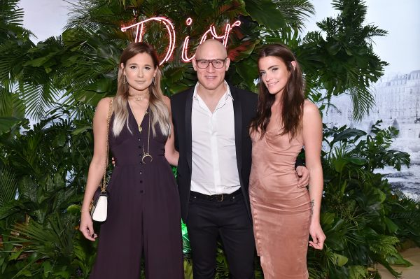 MIAMI, FL - NOVEMBER 29: Danielle Bernstein, Craig Robins and Zoe Robins attend the Dior Lady Art Miami launch event on November 29, 2016 in Miami, Florida. (Photo by Mike Coppola/Getty Images for Christian Dior Couture )