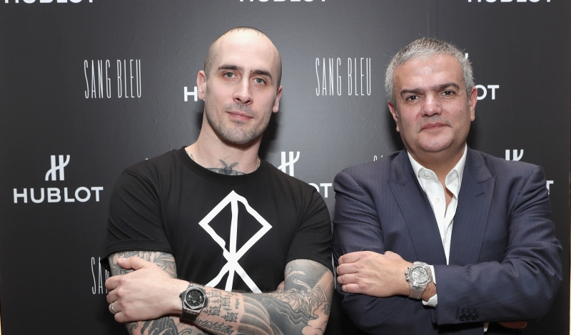 attends the Hublot Sang Bleu Live Tattoo Studio Pop-Up with Maxime Buchi at Miami Design District on December 1, 2016 in Miami, Florida.