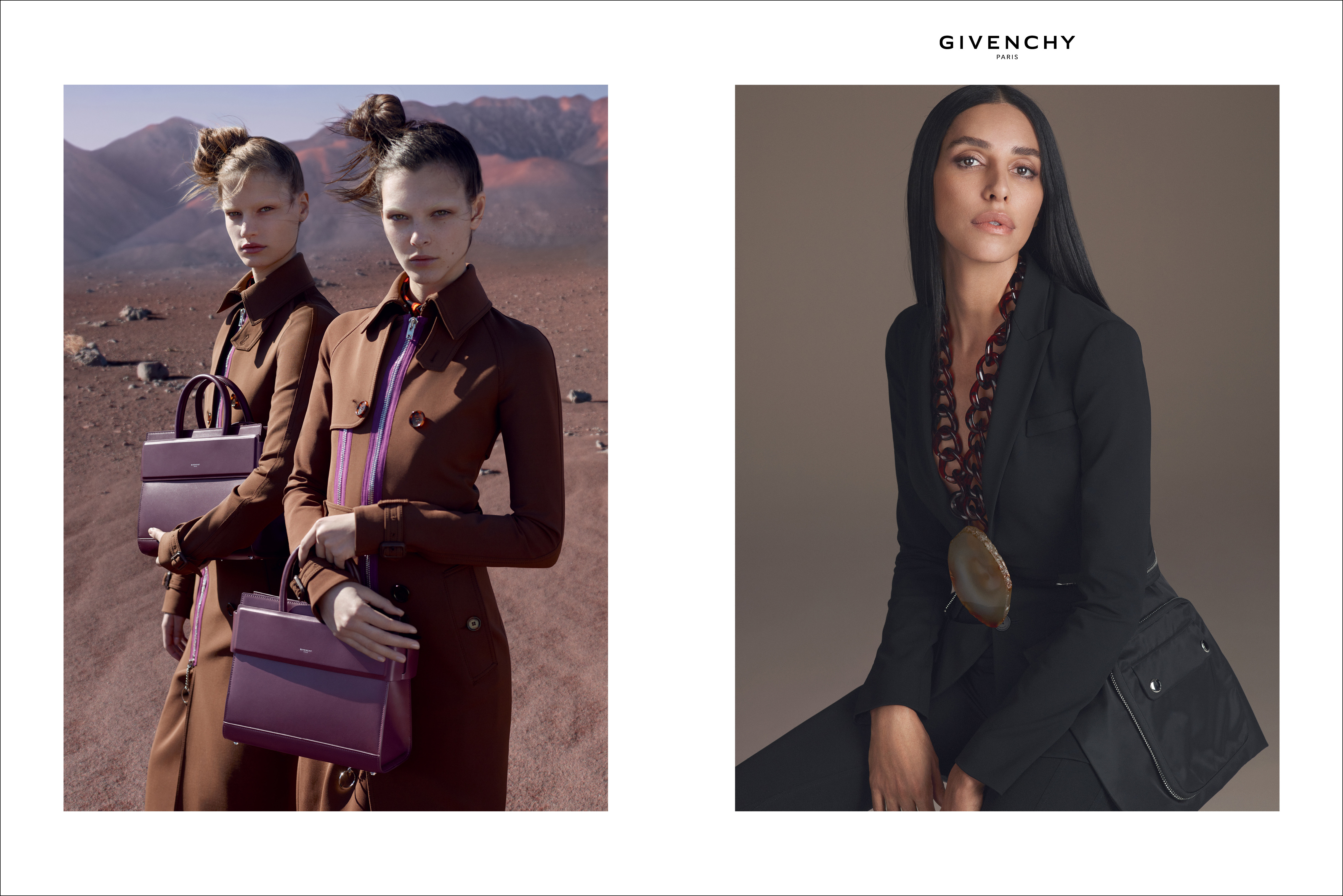 Fashion style Fall givenchy campaign for girls