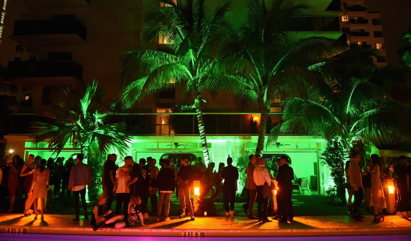 MIAMI BEACH, FL - DECEMBER 01:  Atmosphere at the Public School after party for the launch of WNL Radio at The Confidante on December 1, 2016 in Miami Beach, Florida.  (Photo by Nicholas Hunt/Getty Images for The Confidante )