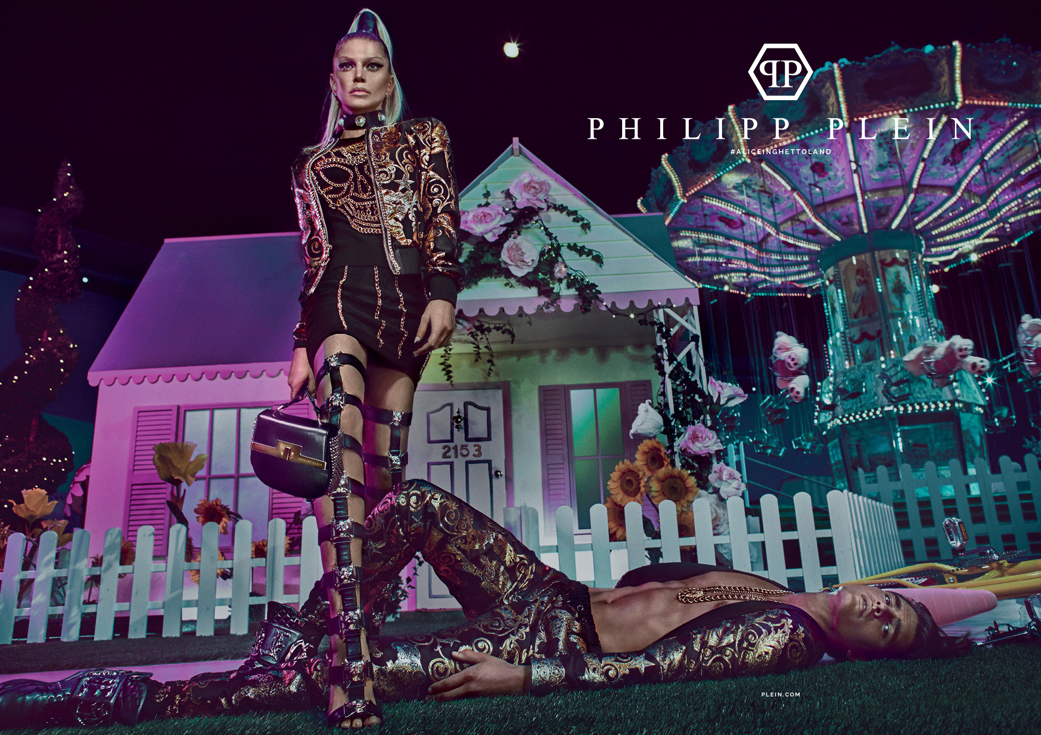 9553fbd7eb written by Paige Reddinger December 7, 2016. Fergie is the star of Philipp  Plein's Spring/Summer 2017 ad campaign ...