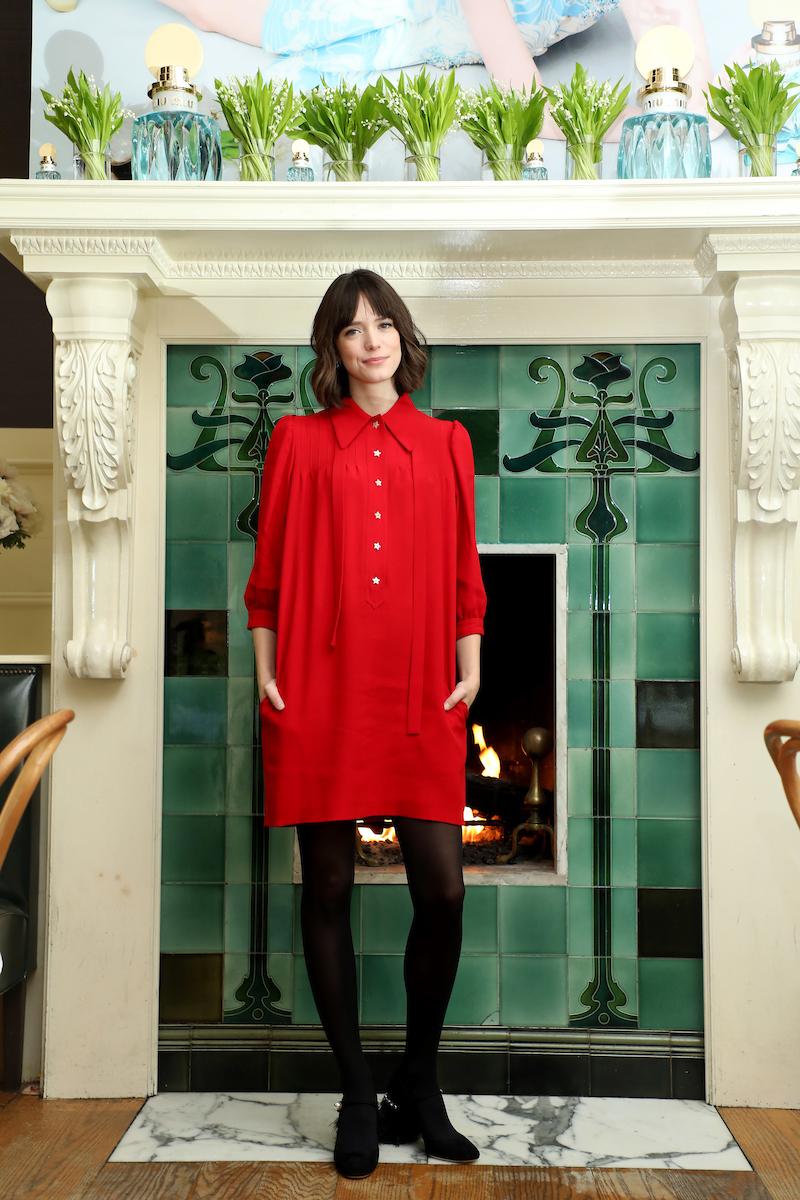 3b55740102 Actress Stacy Martin Talks Starring in Miu Miu s L Eau Bleue Campaign