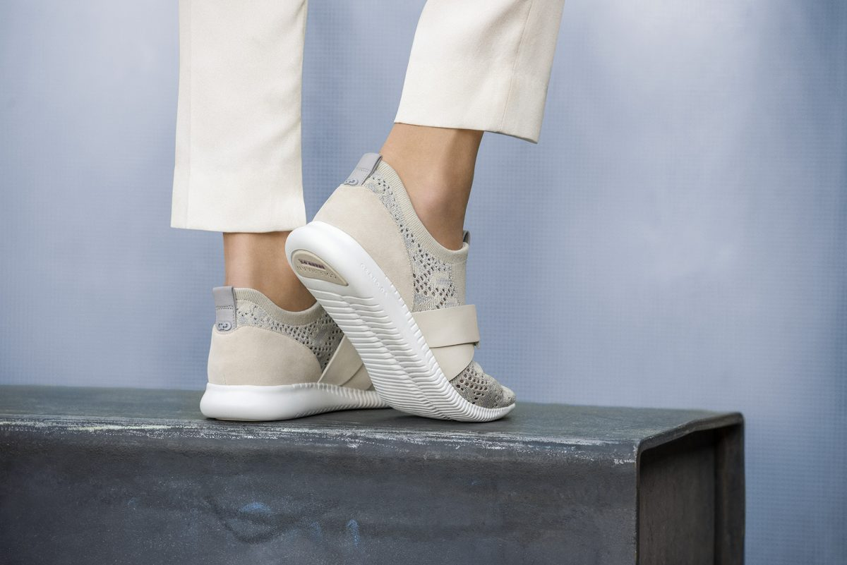 Cole Haan_StudiøGrand Campaign_Location_StudiøGrand Knit Sneaker_Silver Sconce