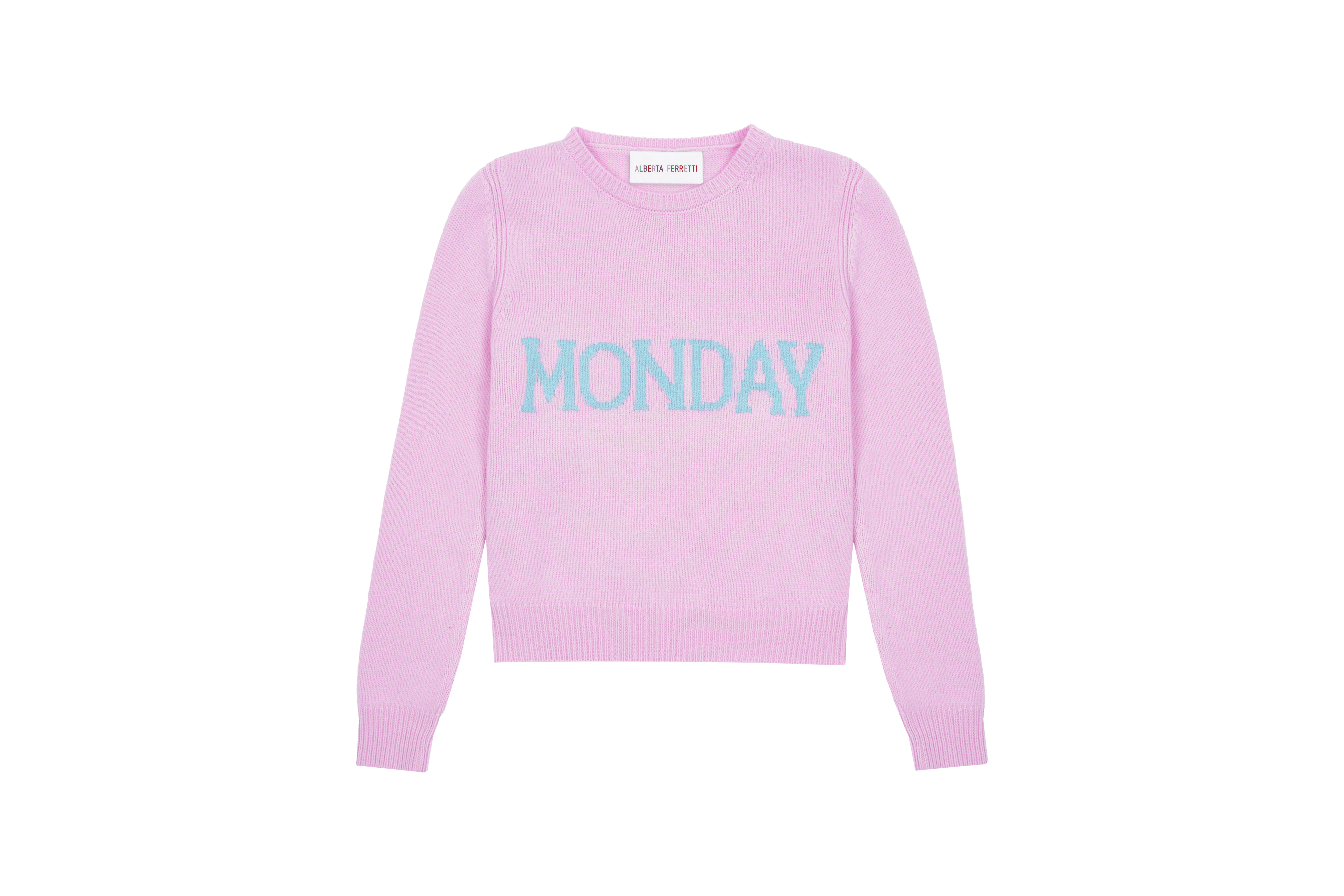 Alberta Ferretti Launches See Now Buy Now Rainbow Week Sweaters