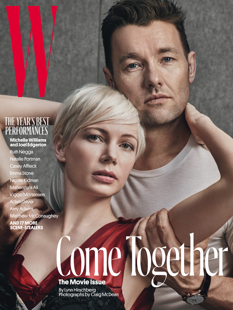Hollywood Stars Couple Up For W Magazine S 6 February Covers Daily Front Row