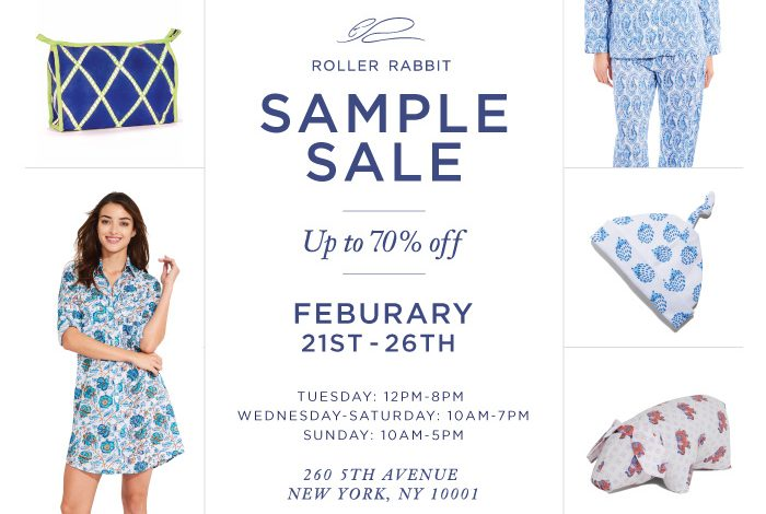 Roberta Roller Rabbit Sample Sale - Daily Front Row