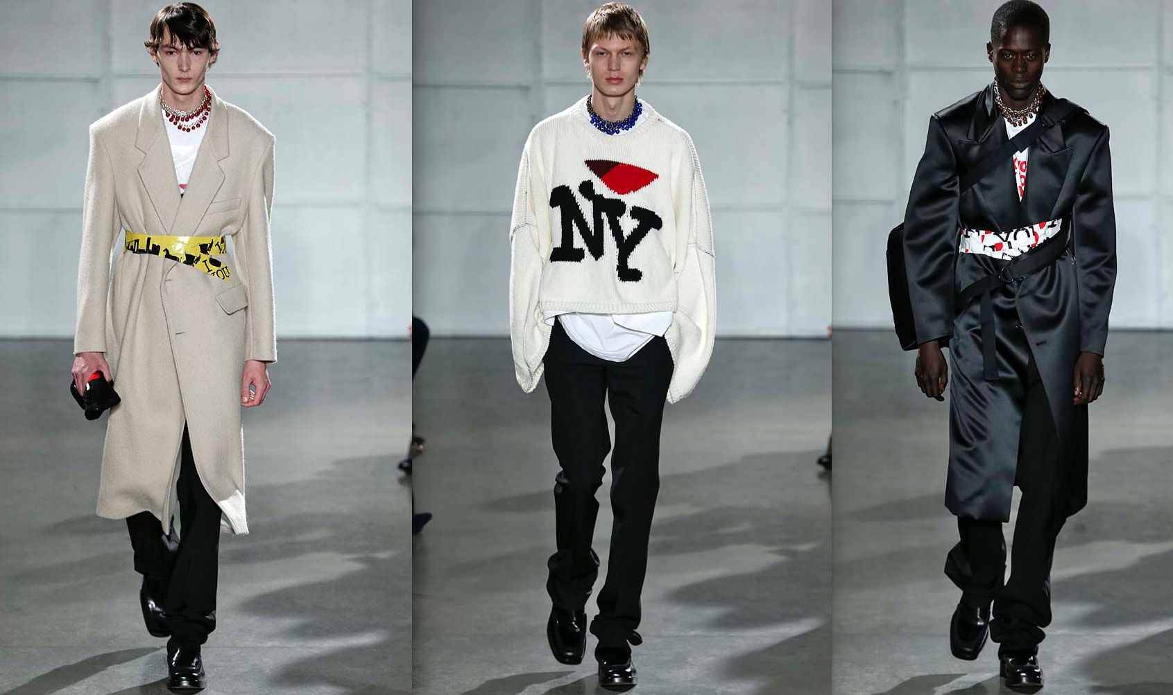 Nyfwm Raf Simons Ode To New York For Fall 2017 Daily Front Row