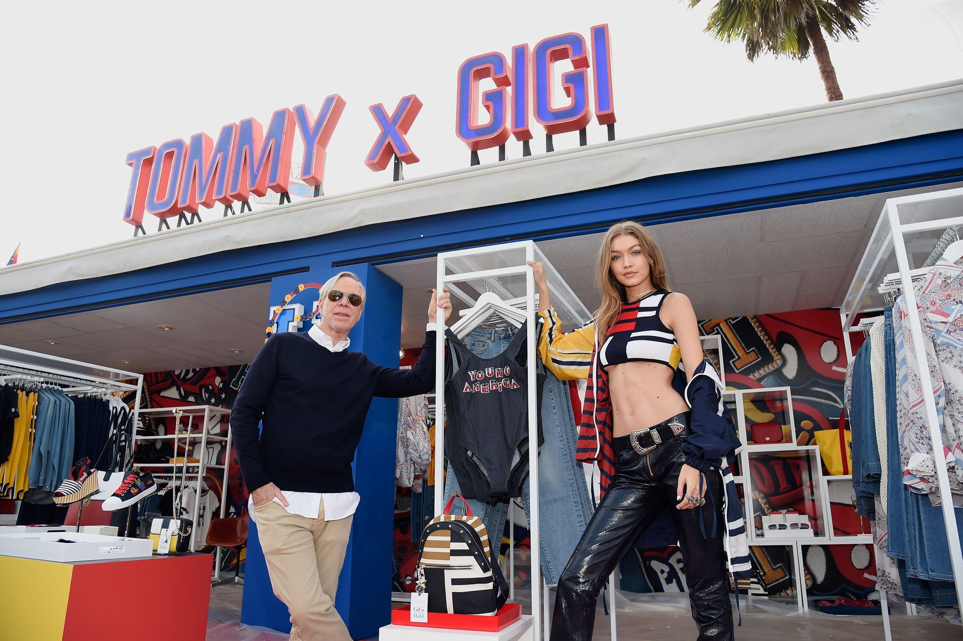 aa91bb018c8e Tommy Hilfiger and Gigi Hadid Take On LA for Spring 2017 - Daily ...